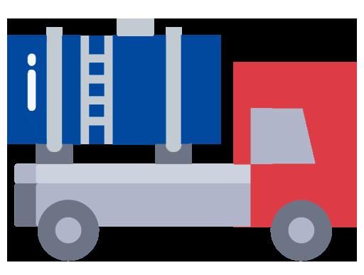 oil truck cartoon